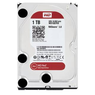 Western Digital HDD 1TB WD Red 64MB 5400rpm SataIII 3.5''