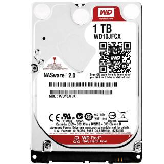 Western Digital HDD 1TB WD Red NASware 2.0 Mobile 16MB 5400rpm SataIII 2.5''