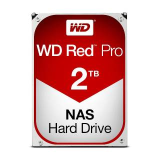 Western Digital HDD 2TB WD Red Pro 64MB 7200rpm SataIII 3.5
