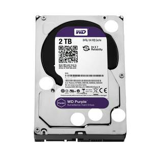Western Digital HDD 2TB WD Purple Surveillence 64MB 5400rpm SataIII 3.5''