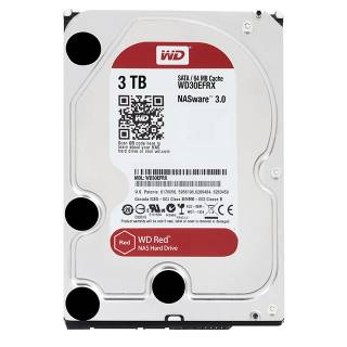 Western Digital HDD 3TB WD Red NASware 3.0 64MB 5400rpm SataIII 3.5''