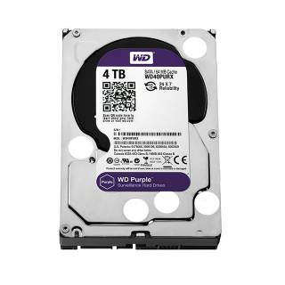 Western Digital HDD 4TB WD Purple Surveillence 64Mb Intellipower SataIII 3.5''