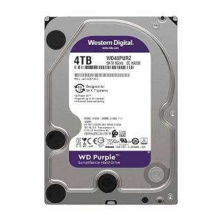 Western Digital HDD 4TB WD Purple 64MB 5400rpm SataIII 3.5