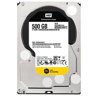 Western Digital HDD 500GB WD RE Datacenter 64Mb 7200rpm SataIII 3.5''