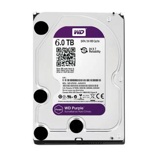 Western Digital HDD 6TB WD Purple Surveillence 64MB 5400rpm SataIII 3.5