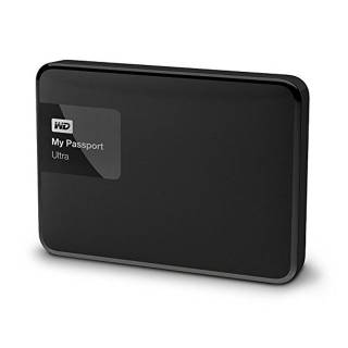 Western Digital My Passport Ultra HDD Esterno WD 2TB 2.5'' USB 3.0 Nero