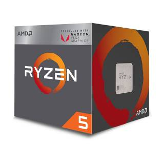 AMD Ryzen 5 2400G QuadCore 3.6GHz 6MB skAM4 Box