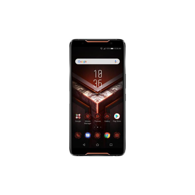 "Asus ROG Phone ZS600KL S845 128GB 6"" Dual SIM Dual CAM 12/8MP Android Oreo Nero/Rosso"