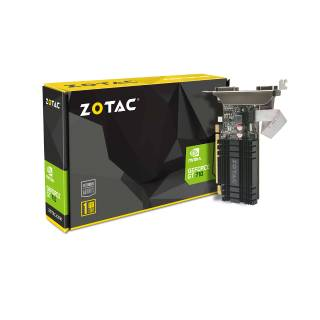 ZOTAC GeForce GT 710 1GB DDR3 ZT-71301-20L DVI-D + HDMI + VGA Scheda Video