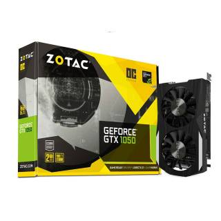 ZOTAC GeForce GTX 1050 OC 2GB ZT-P10500C-10L DP + HDMI + DVI-D Scheda Video Gaming