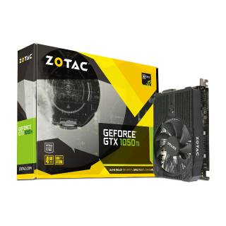 ZOTAC GeForce GTX 1050Ti 4GB Mini ZT - P10510A - 10L DP  +  HDMI  +  DVI - D Scheda Video Gaming