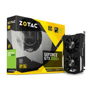 ZOTAC GeForce GTX 1050Ti OC 4GB ZT-P10510B-10L DP + HDMI + DVI-D Scheda Video Gaming