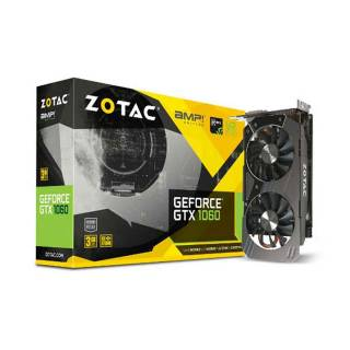 ZOTAC GeForce GTX 1060 3GB AMP! Edition ZT - P10610E - 10M Three DP  +  HDMI  +  DVI Scheda Video Gaming VR Ready