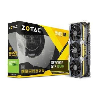 ZOTAC GeForce GTX 1080 Ti AMP Extreme Core Edition 11GB ZT - P10810F - 10P Three DP  +  HDMI  +  DVI Scheda Video Gaming