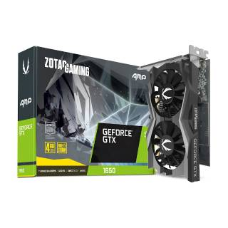 Zotac GeForce GTX 1650 AMP 4GB GDDR5 DVI/HDMI/DP PCi Ex 3.0 16x