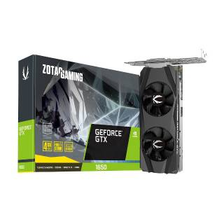 Zotac GeForce GTX 1650 4GB GDDR5 Low Profile DVI/HDMI/DP PCi Ex 3.0 16x