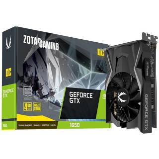Zotac GeForce GTX 1650 OC 4GB GDDR6 DVI/HDMI/DP PCi Ex 3.0 16x