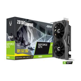 Zotac GeForce GTX 1660 AMP 6GB GDDR5 Three DP + HDMI Scheda Video Gaming VR Ready