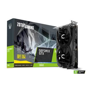 Zotac GeForce GTX 1660 6GB GDDR5 Three DP + HDMI Scheda Video Gaming VR Ready