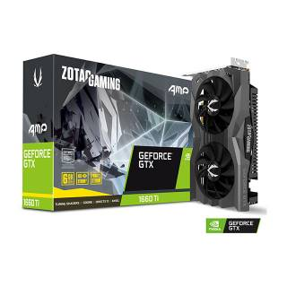 Zotac GeForce GTX 1660 Ti AMP 6GB GDDR6 ZT-T16610D-10M Three DP + HDMI Scheda Video Gaming VR Ready
