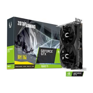 Zotac GeForce GTX 1660 Ti 6GB GDDR6 ZT-T16610F-10L Three DP + HDMI Scheda Video Gaming VR Ready