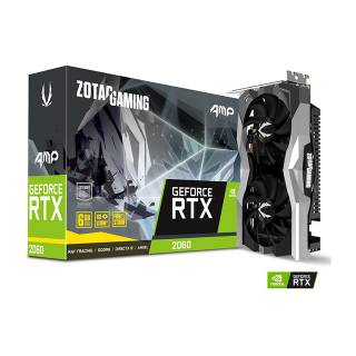 Zotac GeForce RTX 2060 AMP Gaming 6GB Three DP + HDMI Scheda Video Gaming VR Ready
