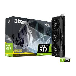 Zotac GeForce RTX 2070 AMP Extreme RGB 8GB GDDR6 ZT-T20700B-10P Three DP + HDMI + USB Type-C Scheda Video Gaming VR Ready