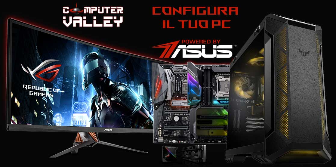 Configuratore PC Powered By Asus